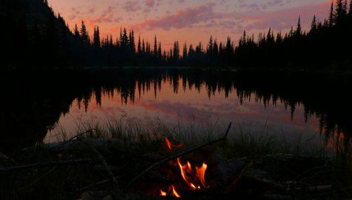 Camping at